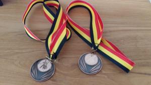4e plaats Salsa - Belgisch kampioenschap Ballroom & Latin (Buldo/Bel-al)